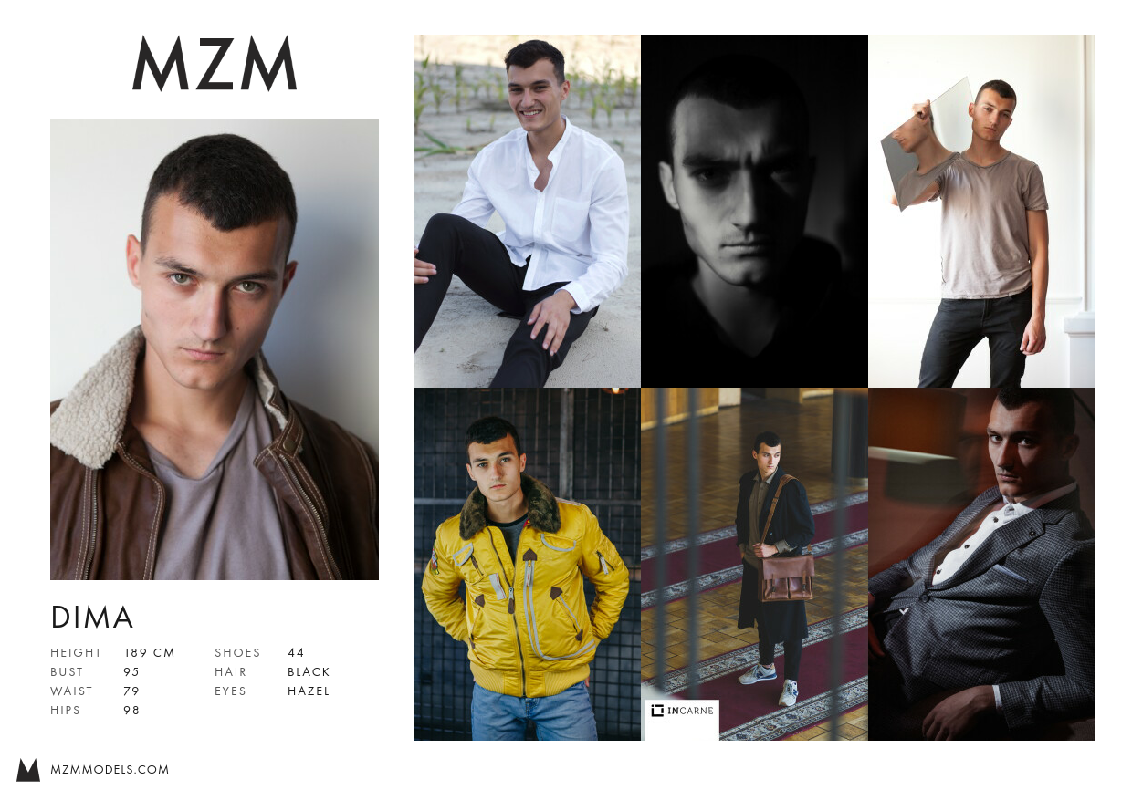 MZM Dima Comp Card