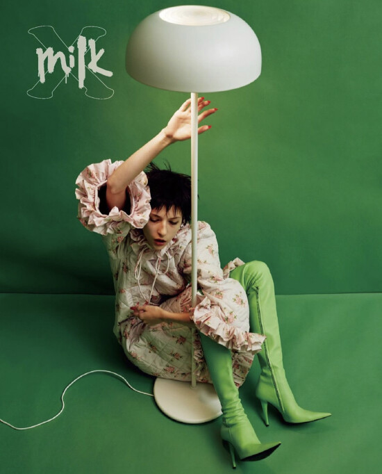 MARY for cover of @milkxhk Magazine!