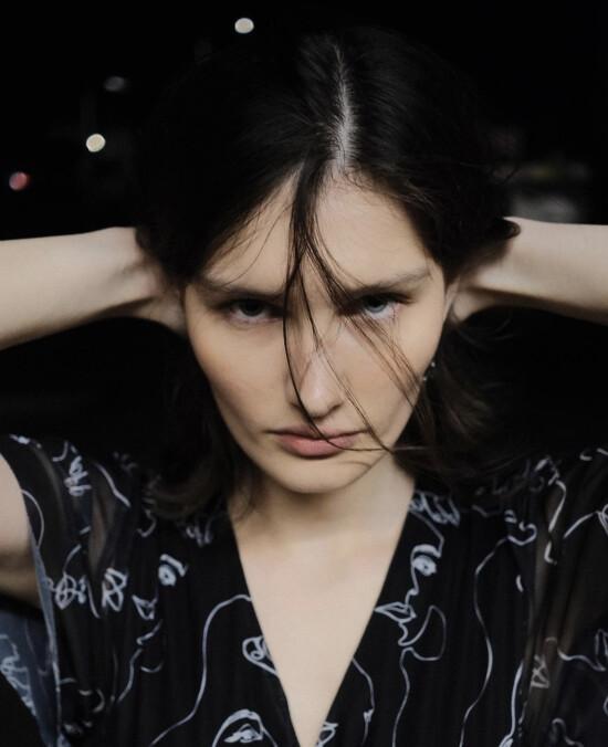 Dara @dashoksea looks stunning in her new shooting by @serkeybelov